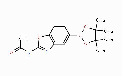 1224844-69-2 | N-(5-(4,4,5,5-tetramethyl-1,3,2-dioxaborolan-2-yl)benzo[d]oxazol-2-yl)acetamide