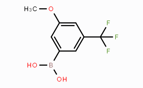 871332-97-7 | (3-methoxy-5-(trifluoromethyl)phenyl)boronic acid