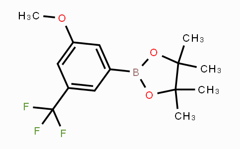 479411-93-3 | 2-(3-methoxy-5-(trifluoromethyl)phenyl)-4,4,5,5-tetramethyl-1,3,2-dioxaborolane