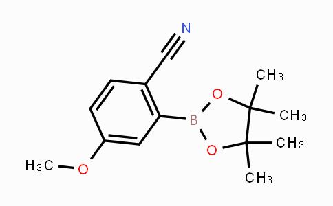 MC442058 | 863868-23-9 | 4-methoxy-2-(4,4,5,5-tetramethyl-1,3,2-dioxaborolan-2-yl)benzonitrile