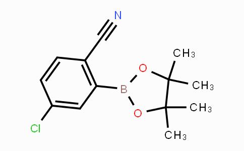 863868-19-3 | 4-chloro-2-(4,4,5,5-tetramethyl-1,3,2-dioxaborolan-2-yl)benzonitrile