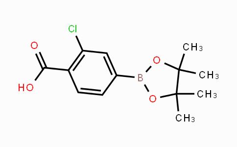 890839-31-3 | 2-chloro-4-(4,4,5,5-tetramethyl-1,3,2-dioxaborolan-2-yl)benzoic acid