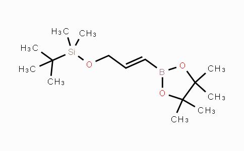 DY442127 | 114653-19-9 | (E)-tert-butyldimethyl((3-(4,4,5,5-tetramethyl-1,3,2-dioxaborolan-2-yl)allyl)oxy)silane