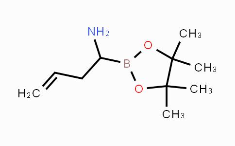 208520-98-3 | 1-(4,4,5,5-tetramethyl-1,3,2-dioxaborolan-2-yl)but-3-en-1-amine