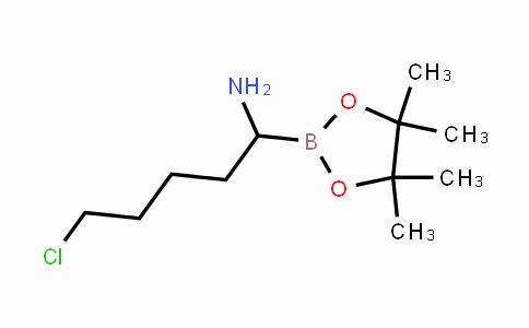 791043-37-3 | 5-chloro-1-(4,4,5,5-tetramethyl-1,3,2-dioxaborolan-2-yl)pentan-1-amine