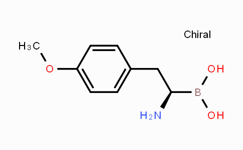 DY442685   1159095-12-1   (R)-(1-amino-2-(4-methoxyphenyl)ethyl)boronic acid