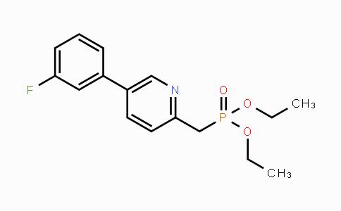 MC442691 | 380894-77-9 | diethyl ((5-(3-fluorophenyl)pyridin-2-yl)methyl)phosphonate