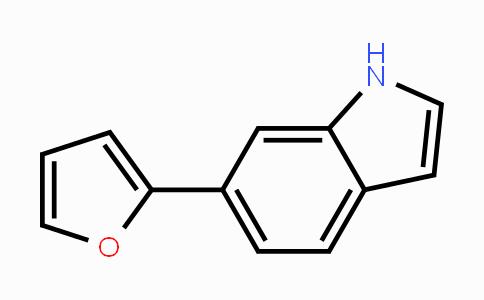 885273-35-8 | 6-(furan-2-yl)-1H-indole