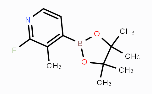 1310383-57-3 | 2-fluoro-3-methyl-4-(4,4,5,5-tetramethyl-1,3,2-dioxaborolan-2-yl)pyridine