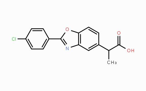51234-28-7 | 2-(2-(4-chlorophenyl)benzo[d]oxazol-5-yl)propanoic acid