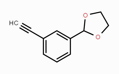 117569-61-6 | 2-(3-ethynylphenyl)-1,3-dioxolane