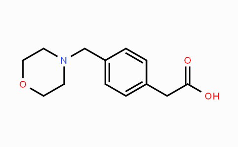 MC442798 | 521313-48-4 | 2-(4-(morpholinomethyl)phenyl)acetic acid