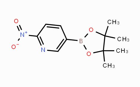 1073371-93-3 | 2-nitro-5-(4,4,5,5-tetramethyl-1,3,2-dioxaborolan-2-yl)pyridine