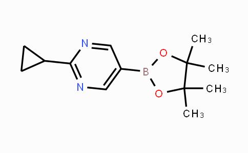 1375301-91-9 | 2-cyclopropyl-5-(4,4,5,5-tetramethyl-1,3,2-dioxaborolan-2-yl)pyrimidine