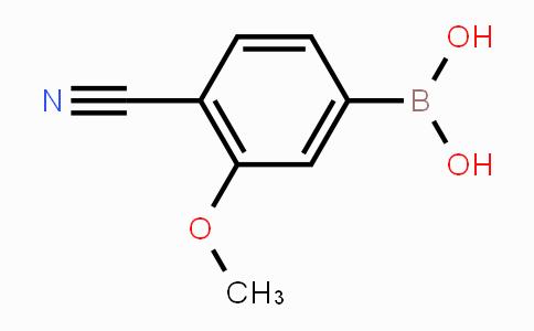 677777-45-6 | 4-cyano-3-methoxyphenylboronic acid