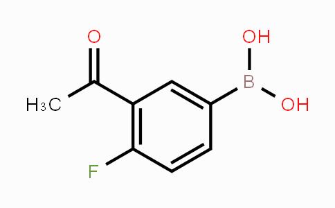 850198-68-4 | 3-acetyl-4-fluorophenylboronic acid