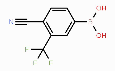 915299-32-0 | 4-cyano-3-(trifluoromethyl)phenylboronic acid