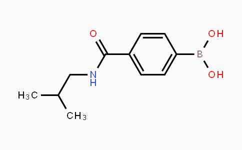 850568-13-7   4-(isobutylcarbamoyl)phenylboronic acid