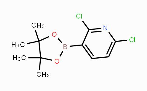 1073371-78-4 | 2,6-dichloro-3-(4,4,5,5-tetramethyl-1,3,2-dioxaborolan-2-yl)pyridine