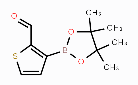 845873-35-0 | 3-(4,4,5,5-tetramethyl-1,3,2-dioxaborolan-2-yl)thiophene-2-carbaldehyde