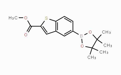 690632-26-9 | 5-(4,4,5,5-四甲基-1,3,2-二噁硼烷-2-基)苯并噻吩-2-羧酸甲酯