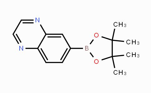 1167418-13-4 | 6-(4,4,5,5-tetramethyl-1,3,2-dioxaborolan-2-yl)quinoxaline