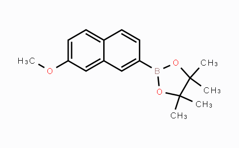 627526-31-2 | 2-(7-methoxynaphthalen-2-yl)-4,4,5,5-tetramethyl-1,3,2-dioxaborolane