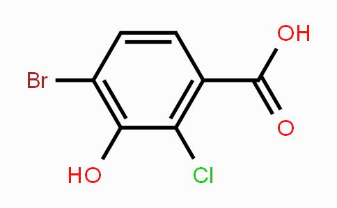 91658-95-6 | 4-bromo-2-chloro-3-hydroxybenzoic acid