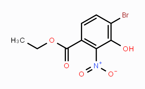 129788-20-1 | ethyl 4-bromo-3-hydroxy-2-nitrobenzoate