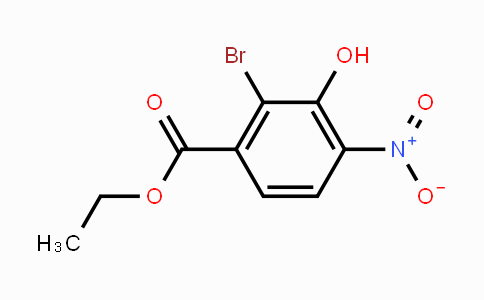 39978-91-1 | ethyl 2-bromo-3-hydroxy-4-nitrobenzoate