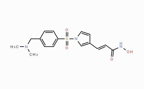 864814-88-0 | (E)-3-(1-((4-((dimethylamino)methyl)phenyl)sulfonyl)-1H-pyrrol-3-yl)-N-hydroxyacrylamide
