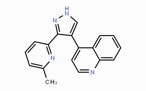 607737-87-1 | 4-(3-(6-methylpyridin-2-yl)-1H-pyrazol-4-yl)quinoline