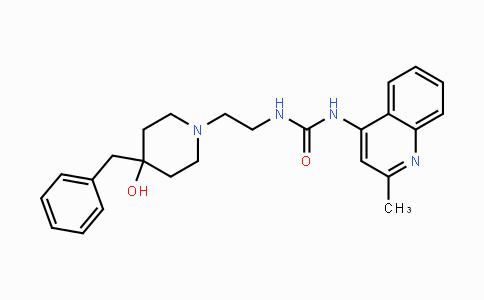 540769-28-6 | 1-(2-(4-benzyl-4-hydroxypiperidin-1-yl)ethyl)-3-(2-methylquinolin-4-yl)urea