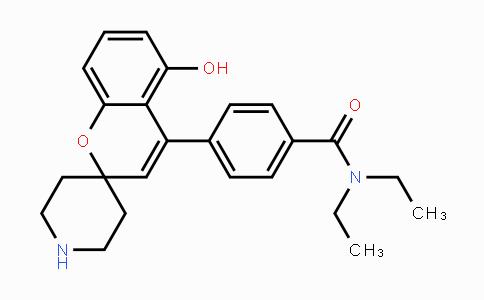 850173-95-4 | N,N-diethyl-4-(5-hydroxyspiro[chromene-2,4'-piperidin]-4-yl)benzamide