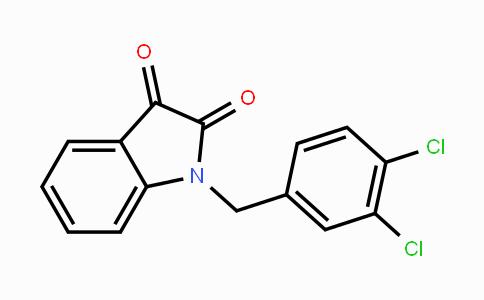 79183-19-0 | 1-(3,4-dichlorobenzyl)indoline-2,3-dione