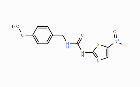 487021-52-3 | 1-(4-methoxybenzyl)-3-(5-nitrothiazol-2-yl)urea
