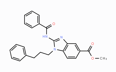 1374601-40-7 | methyl 2-benzamido-1-(3-phenylpropyl)-1H-benzo[d]imidazole-5-carboxylate