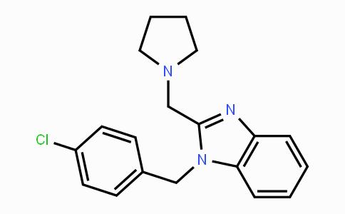 1163-36-6 | 1-(4-chlorobenzyl)-2-(pyrrolidin-1-ylmethyl)-1H-benzo[d]imidazole