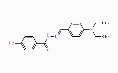 95167-41-2   (E)-N'-(4-(diethylamino)benzylidene)-4-hydroxybenzohydrazide