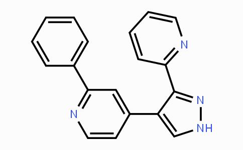 452342-37-9 | 2-phenyl-4-(3-(pyridin-2-yl)-1H-pyrazol-4-yl)pyridine