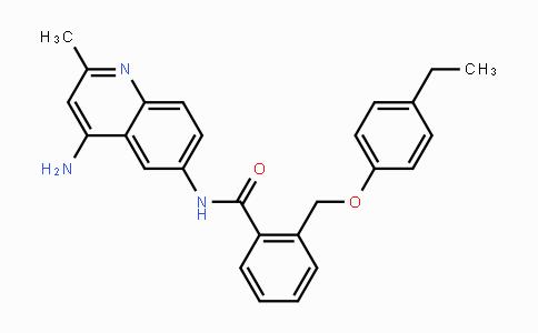 244218-51-7 | N-(4-amino-2-methylquinolin-6-yl)-2-((4-ethylphenoxy)methyl)benzamide