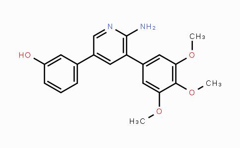 1431985-92-0   3-(6-amino-5-(3,4,5-trimethoxyphenyl)pyridin-3-yl)phenol