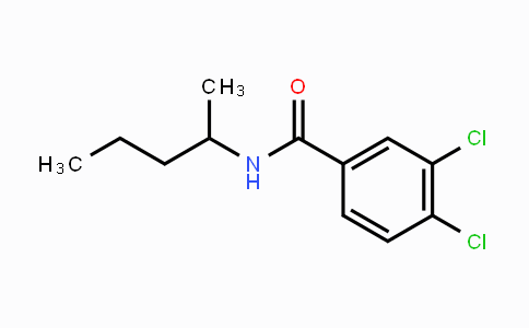 7497-07-6 | 3,4-dichloro-N-(pentan-2-yl)benzamide