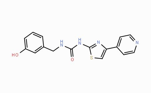 1342278-01-6 | 1-(3-hydroxybenzyl)-3-(4-(pyridin-4-yl)thiazol-2-yl)urea
