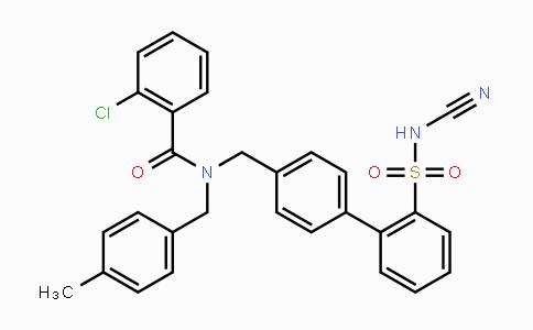 1019331-10-2 | 2-chloro-N-((2'-(N-cyanosulfamoyl)-[1,1'-biphenyl]-4-yl)methyl)-N-(4-methylbenzyl)benzamide