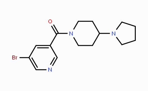 1314241-44-5 | (5-bromopyridin-3-yl)(4-(pyrrolidin-1-yl)piperidin-1-yl)methanone