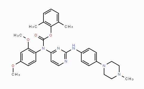 837422-57-8 | 2,6-dimethylphenyl (2,4-dimethoxyphenyl)(2-((4-(4-methylpiperazin-1-yl)phenyl)amino)pyrimidin-4-yl)carbamate