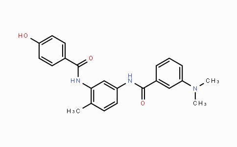 208260-29-1 | 3-(dimethylamino)-N-(3-(4-hydroxybenzamido)-4-methylphenyl)benzamide