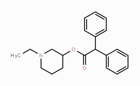 129-77-1 | 1-ethylpiperidin-3-yl 2,2-diphenylacetate