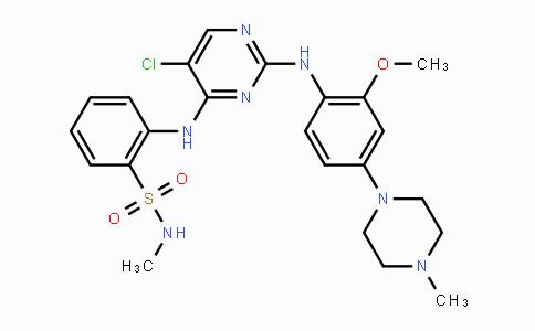 761438-38-4 | 2-((5-chloro-2-((2-methoxy-4-(4-methylpiperazin-1-yl)phenyl)amino)pyrimidin-4-yl)amino)-N-methylbenzenesulfonamide